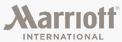 Marriott International light Grey Logo