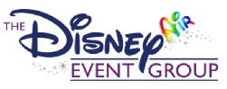 The Disney Event Group Logo over a white background