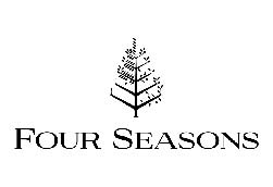 Four Seasons Hotel Logo over a white background