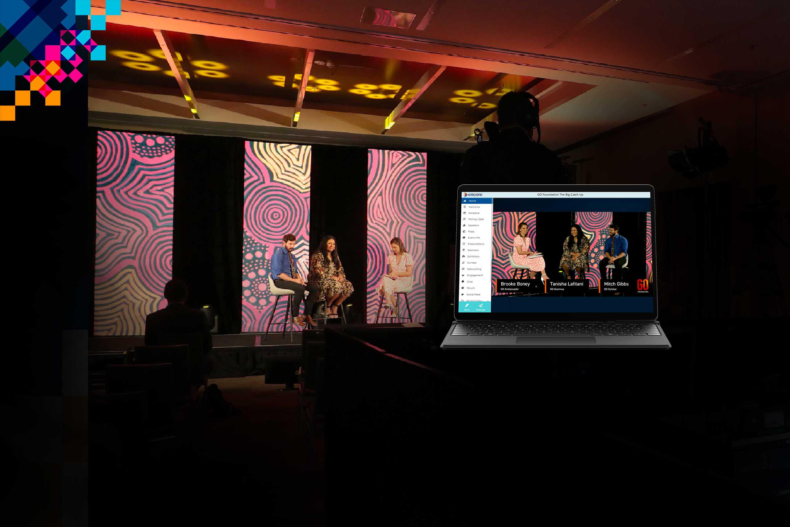 hybrid event platform