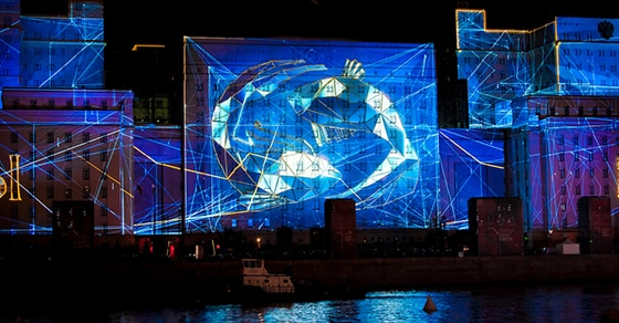 Projection mapping for events