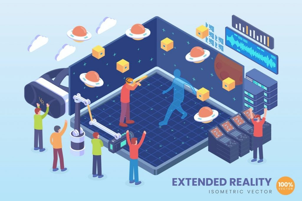 Mixed Reality for hybrid and virtual events with encore