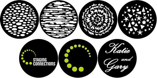 Gobo Light Patterns