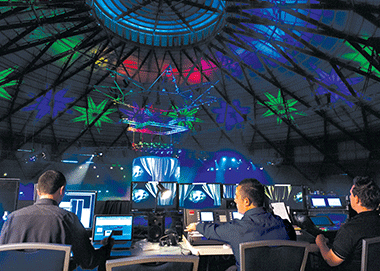 audio-visual-ceiling-projections