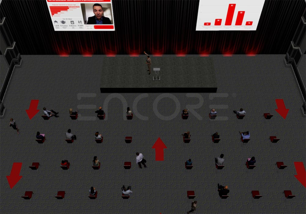 3d-Event-Render-Social-Distancing