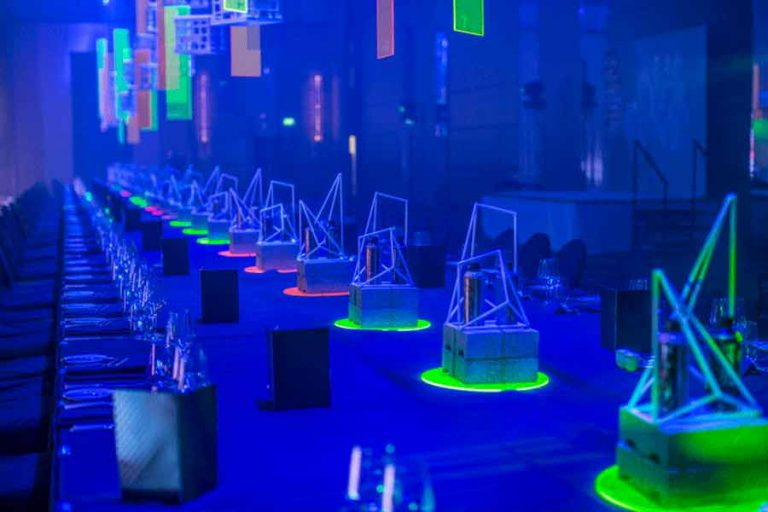 neon-glow-centrepieces-table-styling
