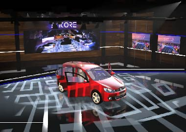 Virtual-Stage-Set-Immersive-XR-Car-Launch