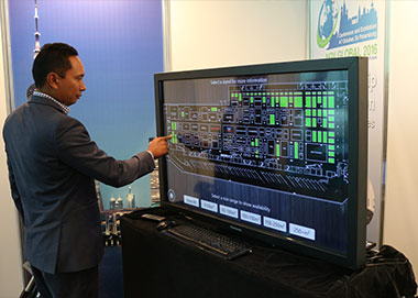 touch screen demo