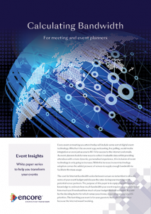 Bandwidth-Estimator-Front-Page