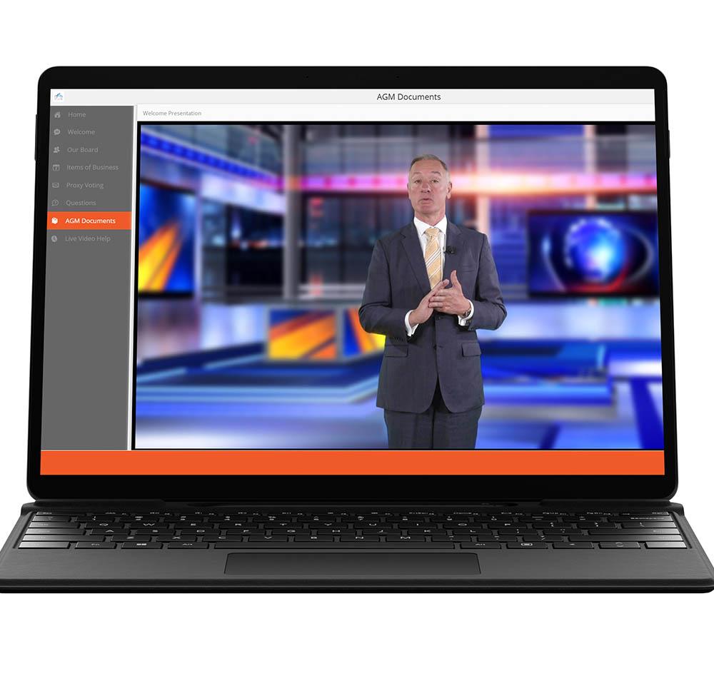 Virtual AGM Platform