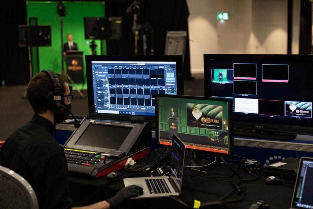 Green Screen Virtual Event