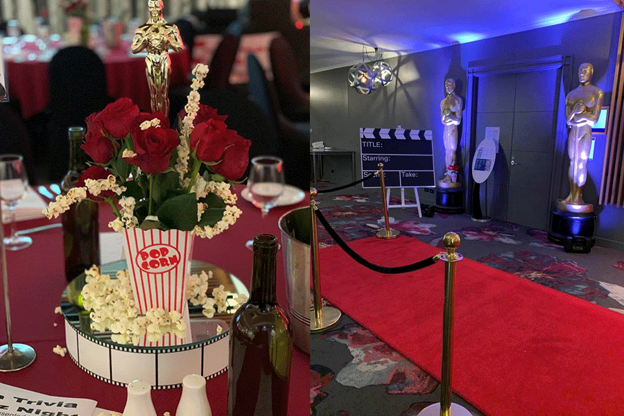 Hollywood Event Styling