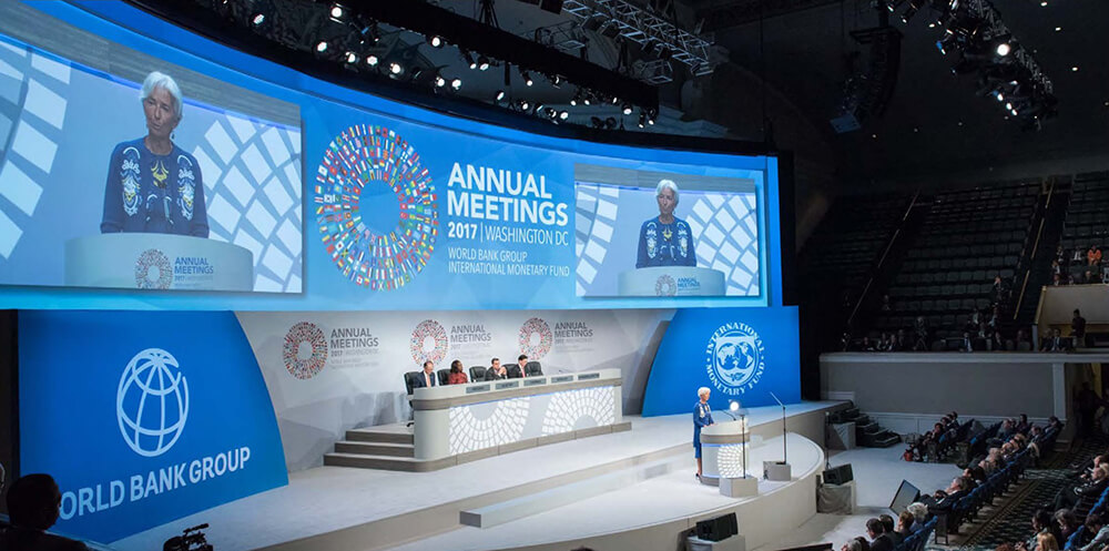 WORLD BANK ANNUAL GLOBAL MEETING