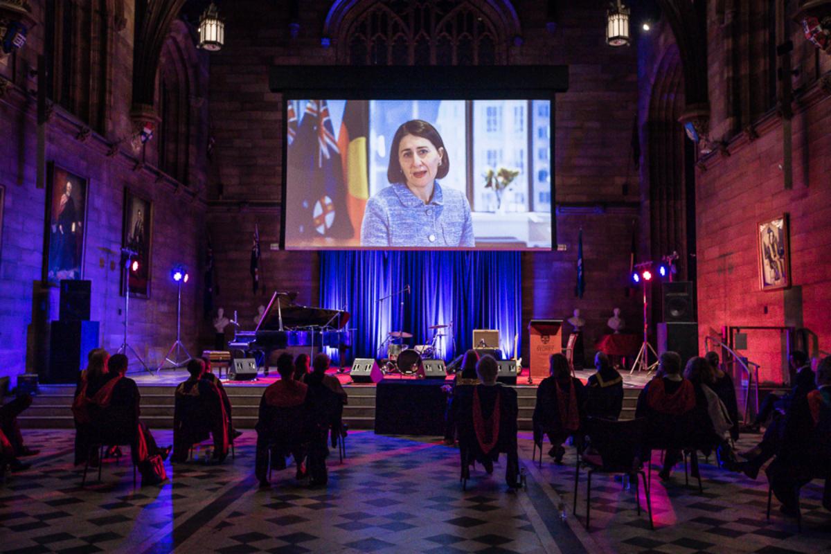 University of Sydney Hybrid Graduation Ceremony
