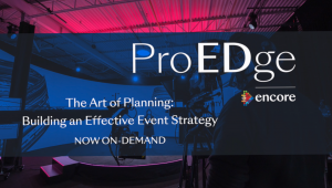 The Art of Planning – Building an Effective Event Strategy
