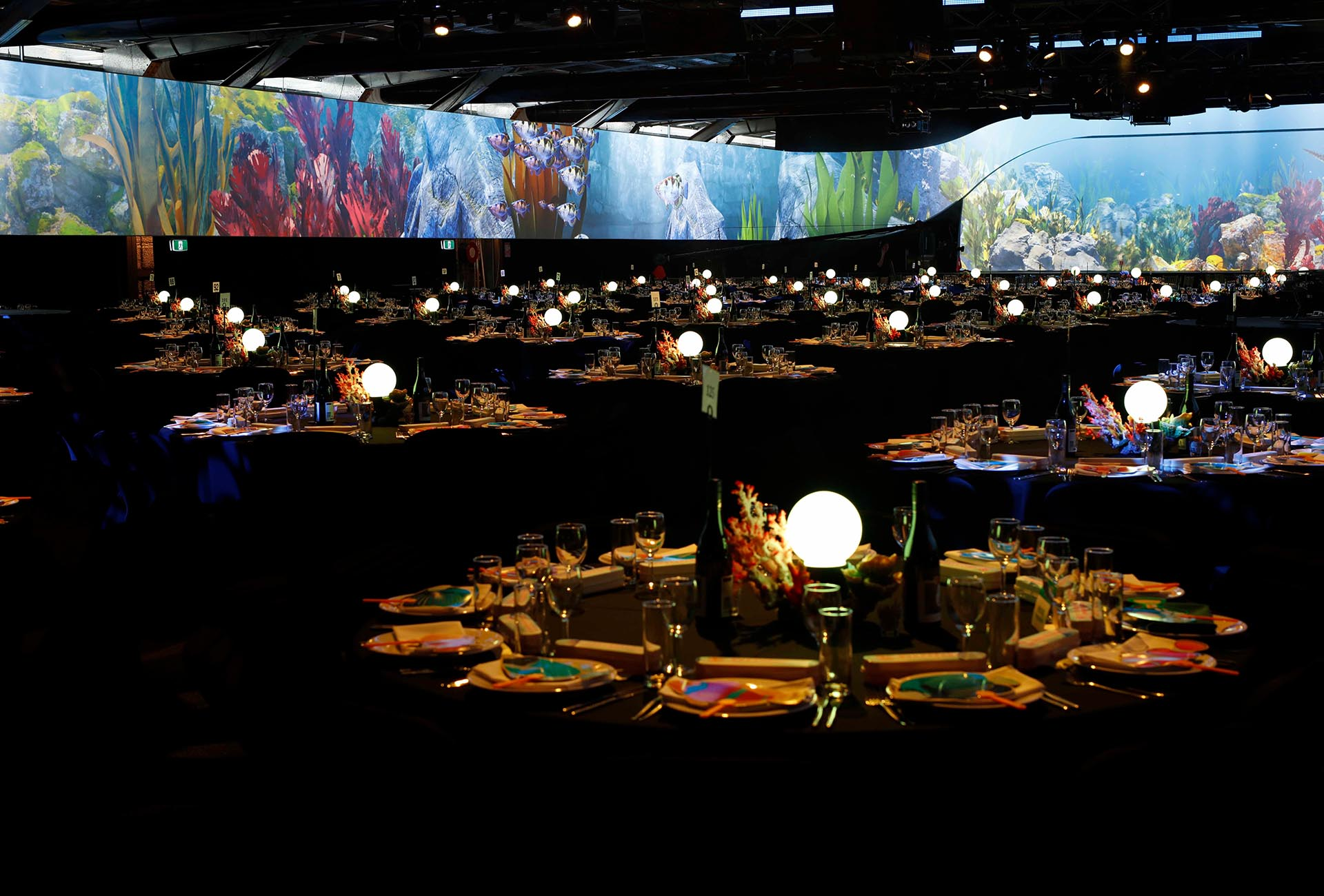 Under The Sea Event Styling