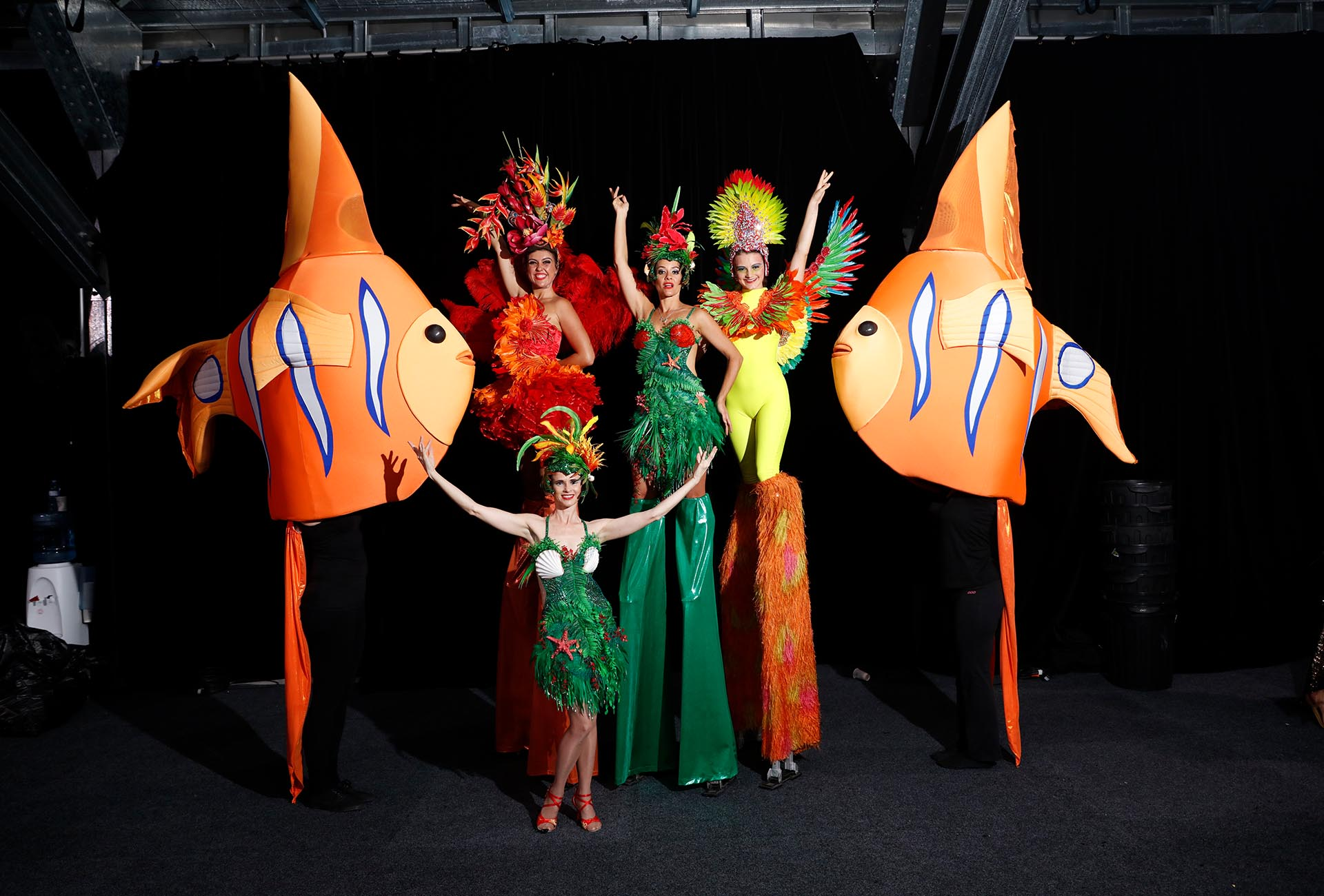 Roving Under The Sea Creatures Entertainers