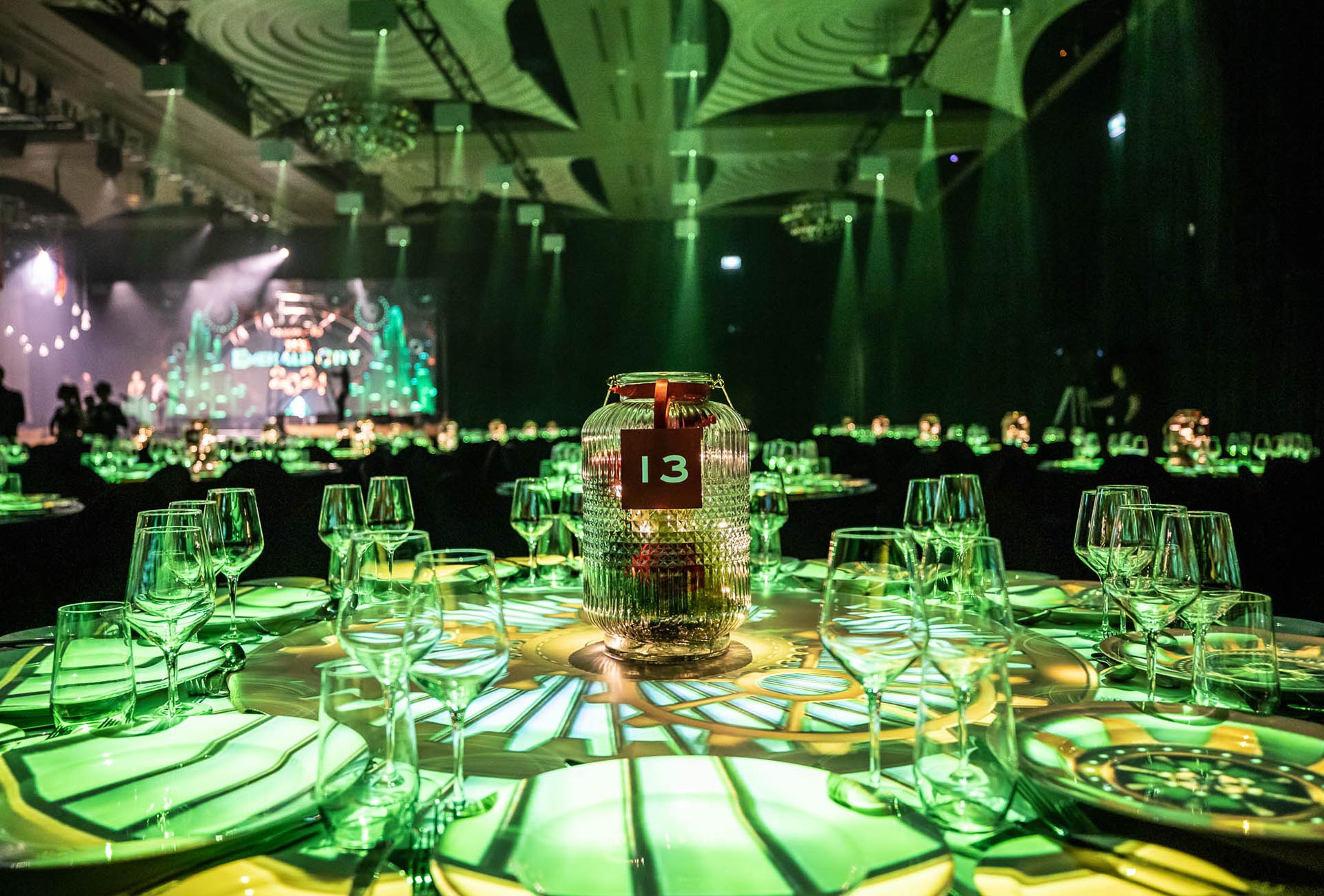Table Projection Mapping