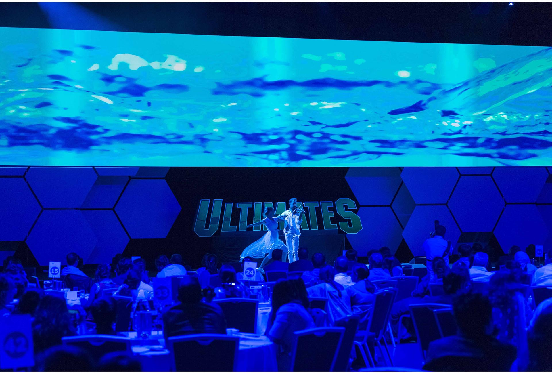 Large LED Screen for Corporate Events