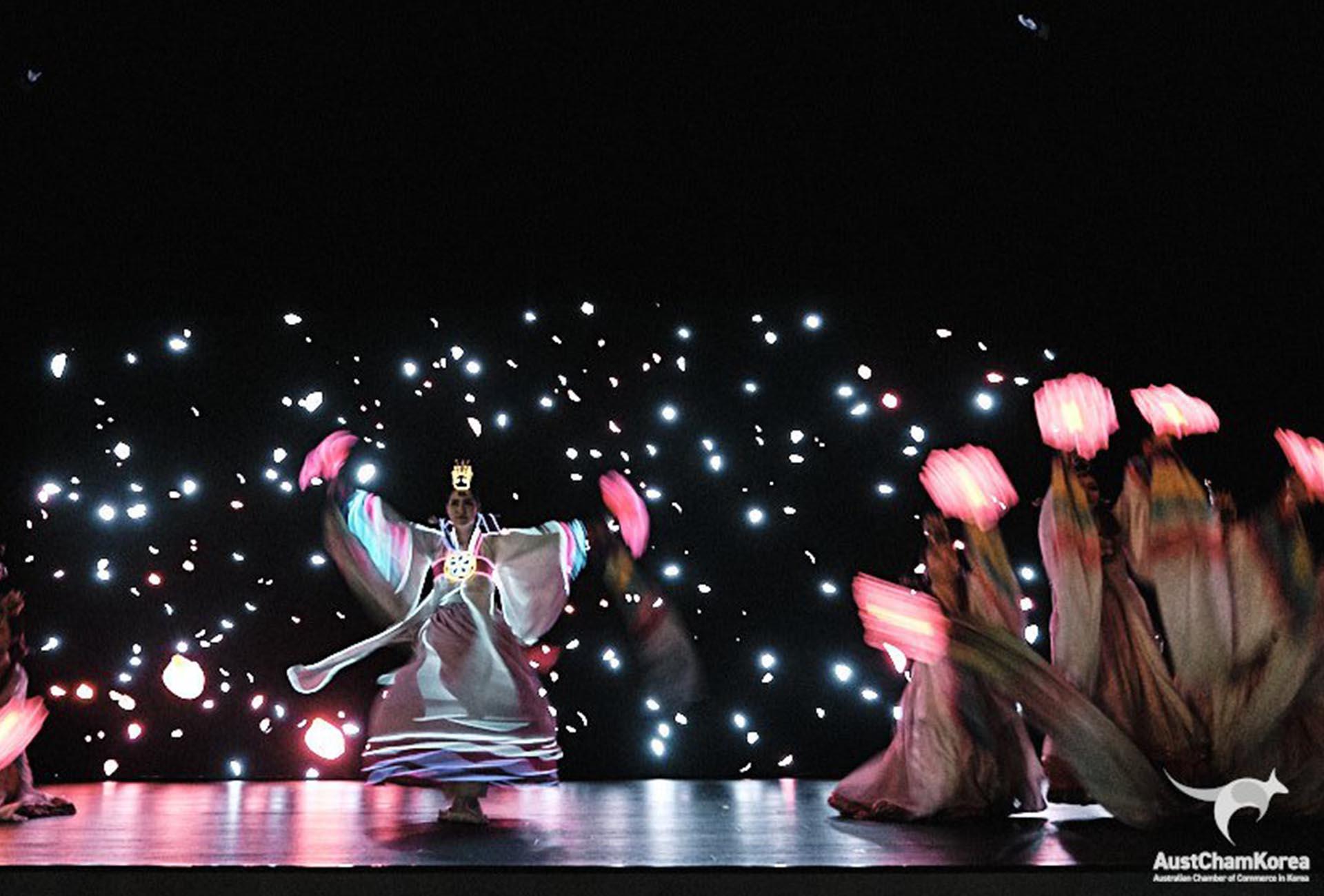 Glow In The Dark Dance Performance Korea