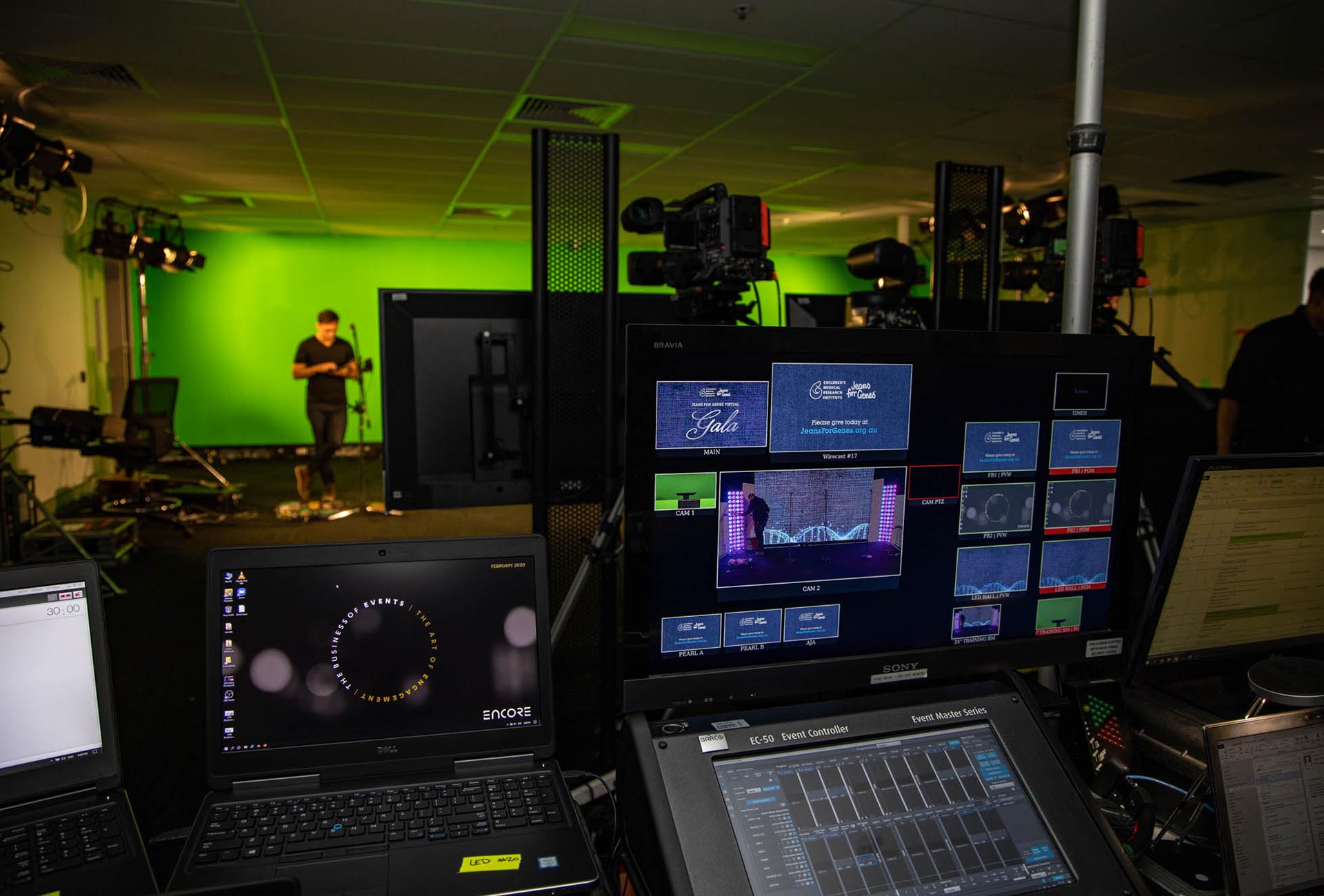 Virtual Event Production by Encore