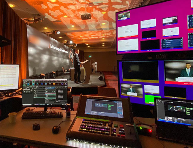Virtual Conference Production